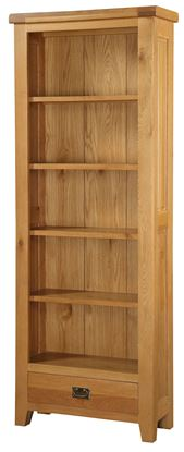Picture of Acorn Solid Oak Bookcase Large