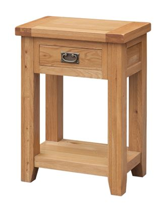 Picture of Acorn Solid Oak Hall Table 1 Drawer