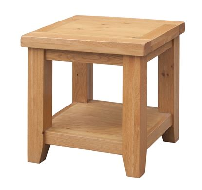 Picture of Acorn Solid Oak Lamp Table