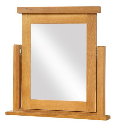Picture of Acorn Solid Oak Dressing Table Mirror