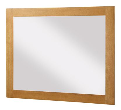 Picture of Acorn Solid Oak Mirror Large
