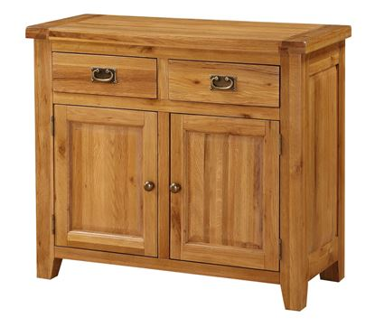 Picture of Acorn Solid Oak Sideboard Small 2 Doors & 2 Drawers