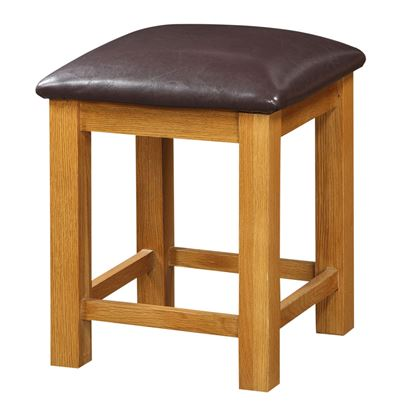 Picture of Acorn Solid Oak Dressing Table Stool