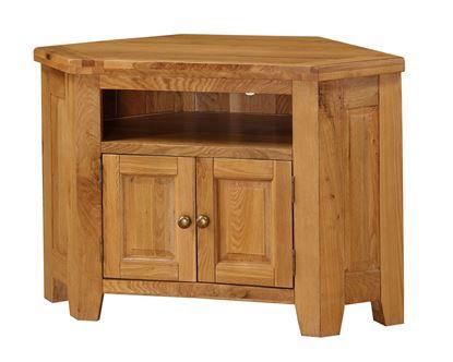 Picture of Acorn Solid Oak TV Unit Corner
