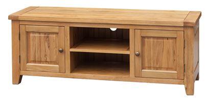 Picture of Acorn Solid Oak TV Unit Straight