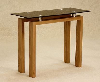 Picture of Adina Black Console Table