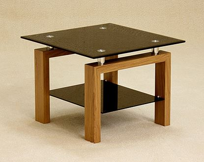 Picture of Adina Black Lamp Table