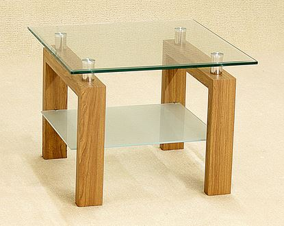 Picture of Adina Lamp Table Oak