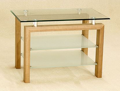 Picture of Adina TV Bench Oak