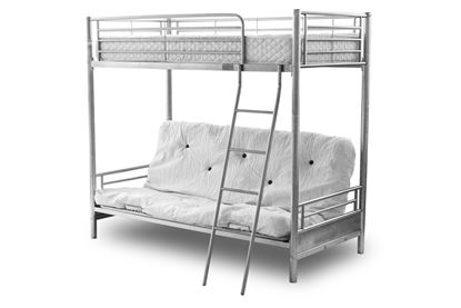 Picture of Alaska Futon Bunk Bed Silver