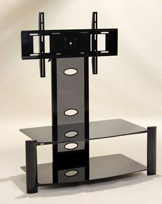 Picture of Alpine Flat Screen TV Stand Black (Baron)