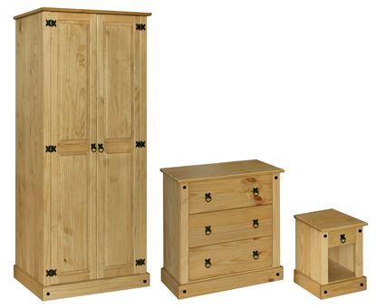 Picture of Amazon Trio Wardrobe, Chest & Bedside