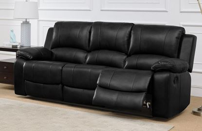 Picture of Andalusia Recliner LeatherGel & PU 3 Seater