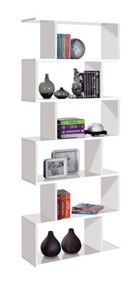 Picture of Arctic Bookcase Tall High Shine White