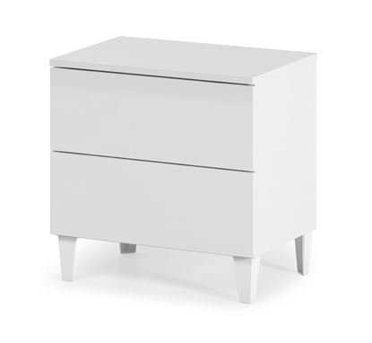 Picture of Arctic Chest 2 Drawer High Shine White