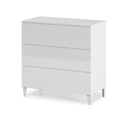 Picture of Arctic Chest 3 Drawer High Shine White