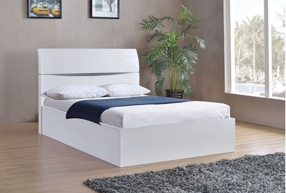 Picture of Arden High Gloss Storage Bed King Size