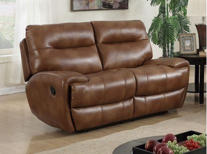 Picture of Bailey Recliner LeatherGel & PU 2 Seater