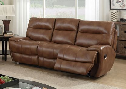 Picture of Bailey Recliner LeatherGel & PU 3 Seater