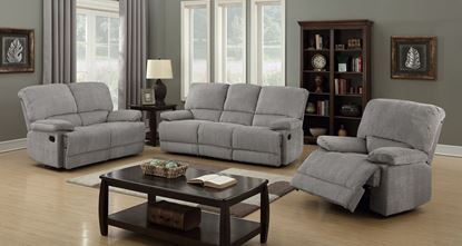 Picture of Berwick Recliner Fabric 3 Seater