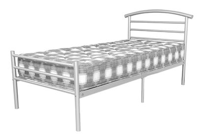 Picture of Brenington 4 Foot Bed Silver