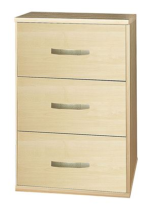 Picture of Burton 3 Draw Bedside