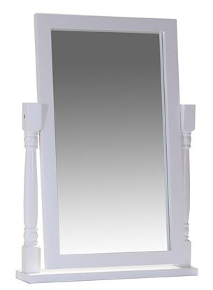 Picture of Chelsea White Dressing Table Mirror