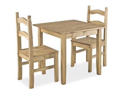 Picture of Coba Small Mexican Dining Set with 2 Chairs