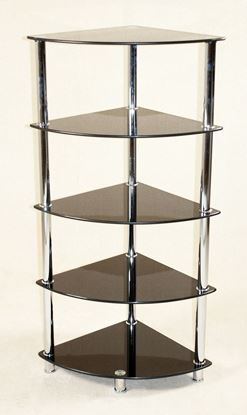 Picture of Cologne Black Corner Unit 5 Shelves