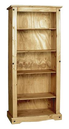 Picture of Corona Bookcase Large with 4 Shelves