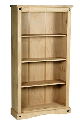 Picture of Corona Bookcase Medium with 3 Shelves