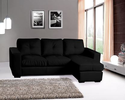 Picture of Diego Chaise Sofa Full Bonded Leather