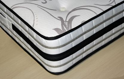 Picture of 4 Foot Mattress Luxury Memory Pocket