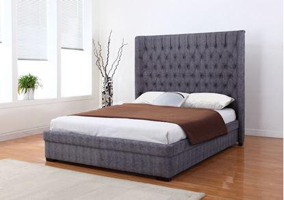 Picture of Genesis Linen 6 Foot Bed Dark Grey