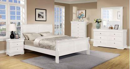 Picture of Horizon 5 Pc Bedroom Set White
