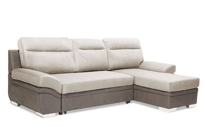 Picture of Jessica 2 Seater Sofa with Chaise Linen Grey