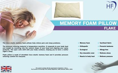 Picture of Memory Foam Pillow Flake